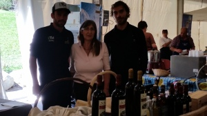 Ristorante Le Coq au Vin - Chalet Eden con Elvira Rini delle cantine Barrò