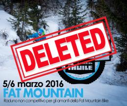 Fat Bike evento deleted
