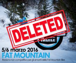 Fat Bike evento deleted