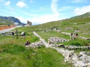 archaeological site_Colle Piccolo San bernardo La Thuile_Valle d'Aosta bassa